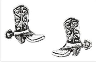Cowboy boot earrings, £10.50 – Wild Wild Western Wear