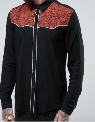 Leopard Western shirt, £25 - Asos