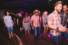 Danni the line-dance teacher from BGT semi-finalists CountryVive