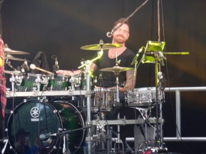 Possibly the happiest drummer in the world