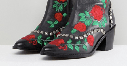 Romance Western ankle Boot